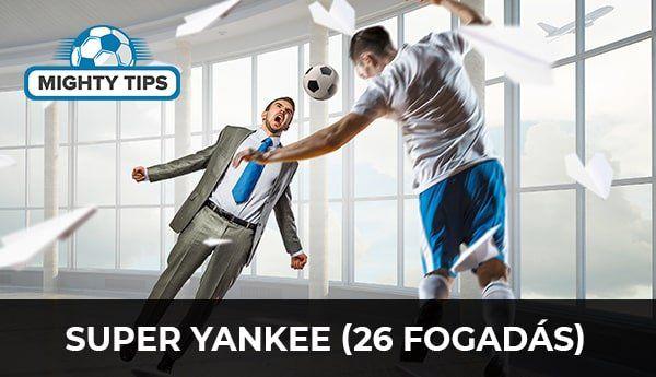 Super Yankee (26 fogadás)